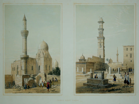David Roberts (1796-1864), Tombs Near Cairo
