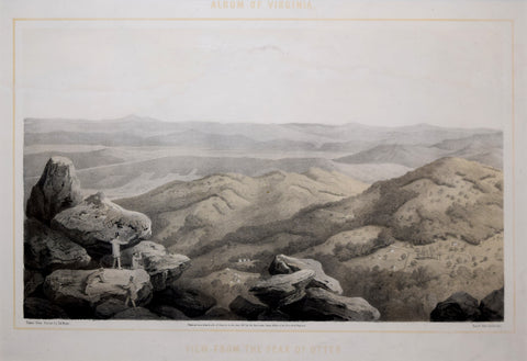 Edward Beyer (1820-1865),  View from the Peak of Otter