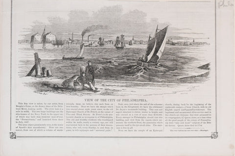 Harper's Weekly, View of the City of Philadelphia