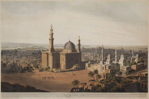 Henry Salt (1780-1827), View of Grand Cairo