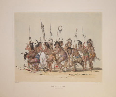 George Catlin (1796-1872), War Dance