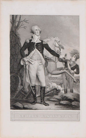 John Trumbull (1756-1843), after painting by, George Washington
