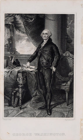 Illman and Co., engravers, George Washington