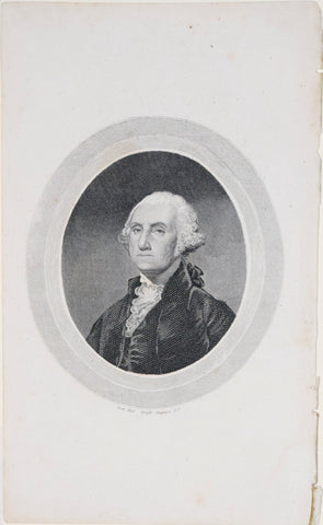 Charles Cushing Wright (1796-1854), engraver, [George Washington]