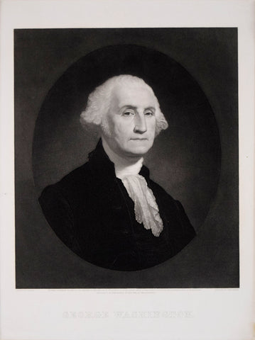 Gilbert Stuart (1755-1828), after painting by, George Washington