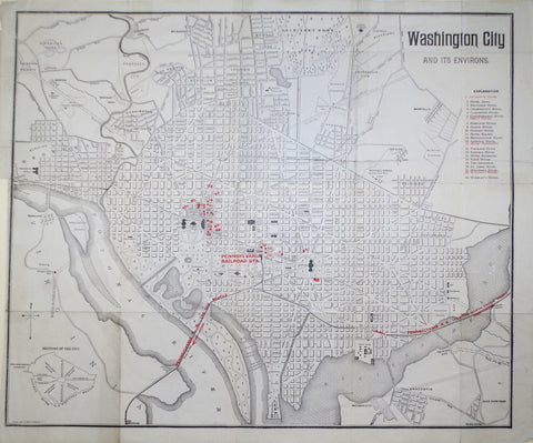 Allen, Lane & Scott, Washington City and its Environs