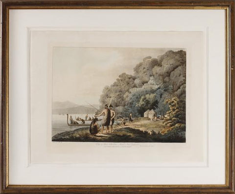 John Webber (1751-1793), View in Queen Charlotte's Sound, New Zealand