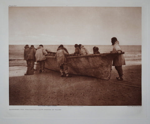 Edward S. Curtis (1868-1953), Whaleboat Pl 707