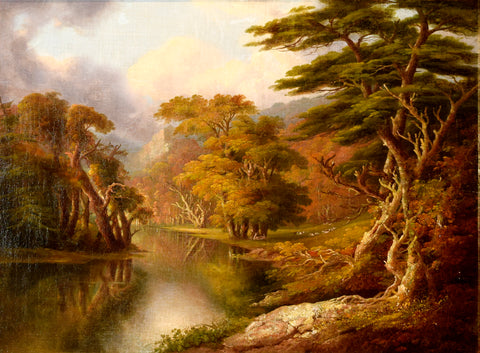 William Guy Wall (1792-1864) Running the Stag