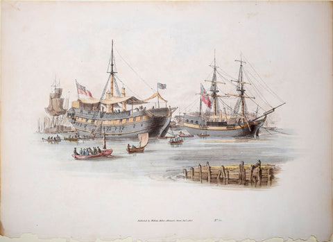 William Henry Pyne (1770–1843), Prison Ships