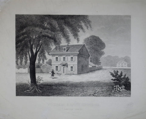 H. Quig, Printer, William Penn's Cottage, Letitia Court, Philadelphia, 1682