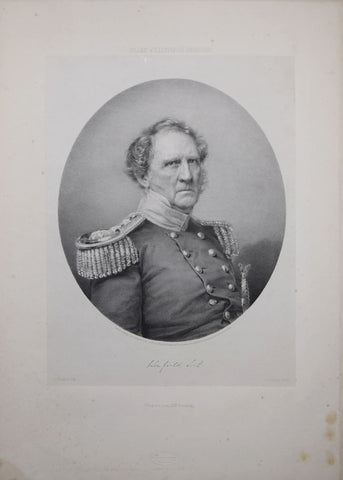 Francis D' Avignon (1813–1861), After Mathew B. Brady,  Winfield Scott