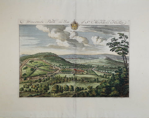 Johannes Kip (1652-1722), Witcombe Park the Seat of Sr Michaell