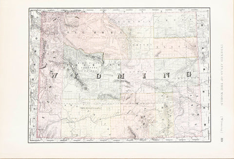 Rand McNally, Wyoming