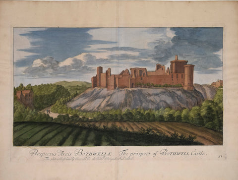 John Slezer (1693-1718), The Prospect of Bothwell Castle