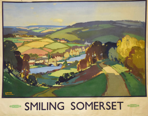 Leonard Richmond (British, 1889-1965), Smiling Somerset [British Railways]