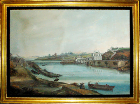 Nicolino Calyo (1799-1884), The Philadelphia Water Works