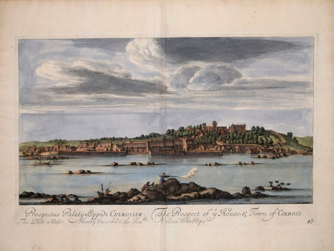 John Slezer (1693-1718), The Prospect of ye House & Town of Colross