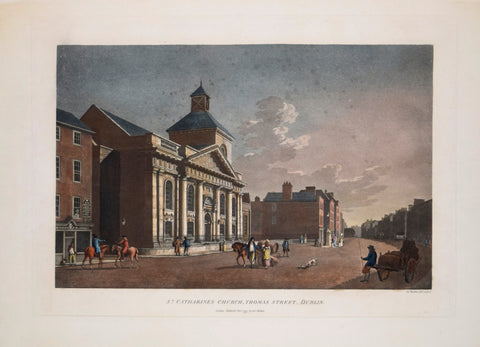 James Malton (c. 1760-1803), St. Catharines Church, Thomas Street, Dublin