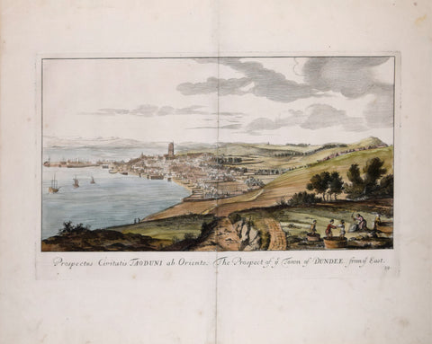 John Slezer (1693-1718), The Prospect of Town of Dundee from ye East