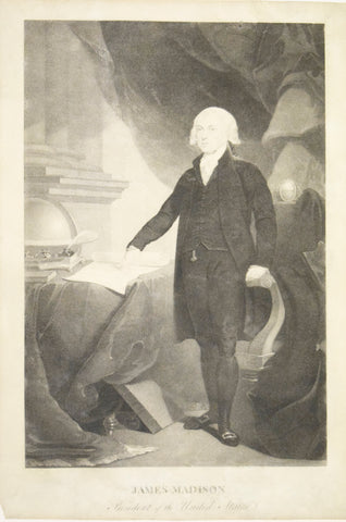 David Edwin, after Thomas Sully James Madison, President of the United States