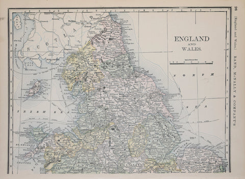 Rand, McNally & Company, England and Wales