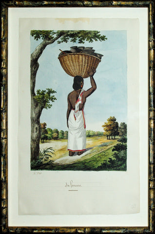 Indian Trade Watercolor