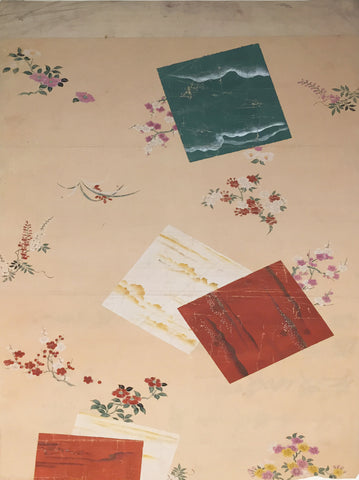 Japanese School, Floral Study