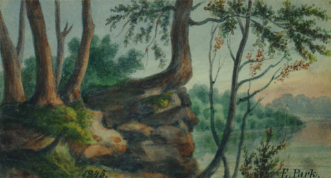 August Kollner (American, active 1838–72),  E. Park. 1845. [Fairmount Park, Philadelphia]