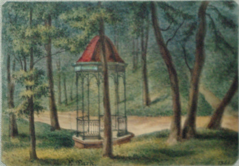 August Kollner (American, active 1838–72),  E. Park. 1864. [Fairmount Park, Philadelphia]