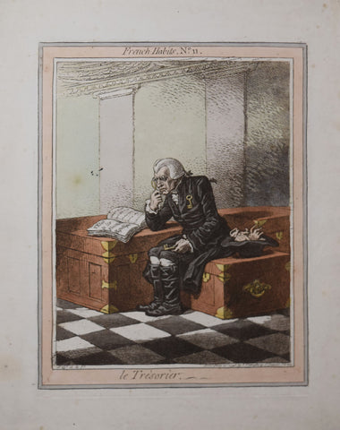 James Gillray (1756-1815), Le trésorier