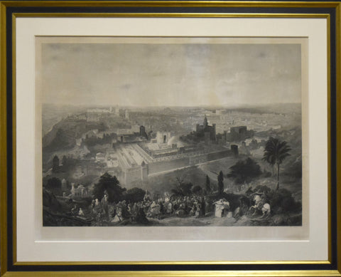 Charles Mottram (1807-1876), Engraver, after Henry Courtney Selous (1803-1890, [Jerusalem]