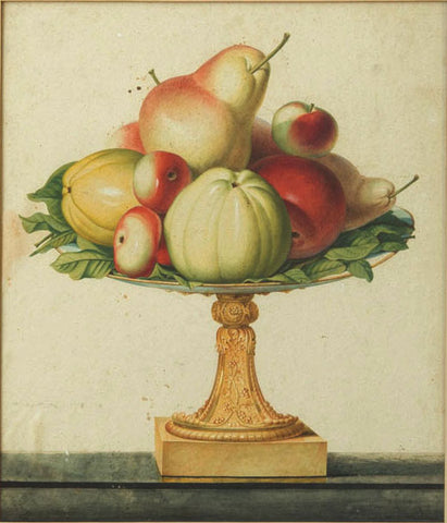 Jean Louis Prévost (c. 1760-1810), Still Life With Apples and Pears