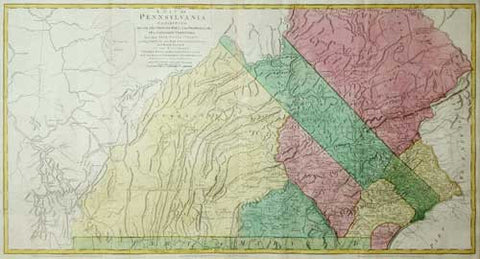 William Scull (1739-1784), A Map of Pennsylvania Exhibiting Not Only the Improved Parts of that Province...