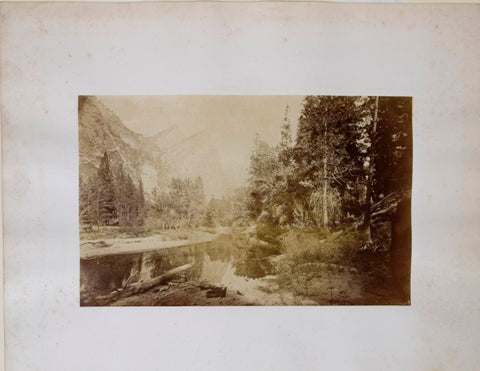 Carleton E. Watkins [1829-1916], Yosemite Valley - The Three Brothers