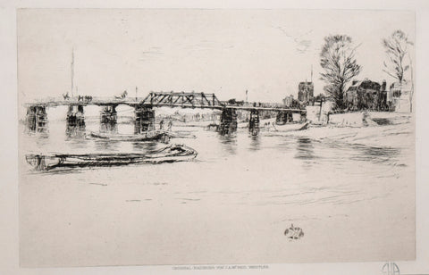 James McNeill Whistler (1834–1903), Fulham, 1879