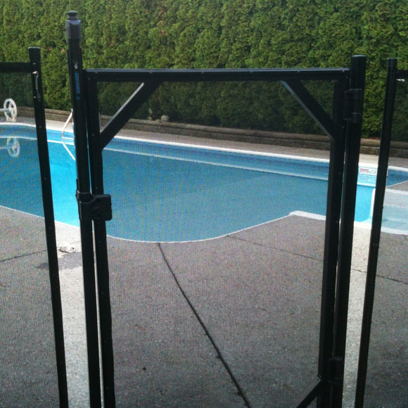 Pool fence gate with Magna Latch