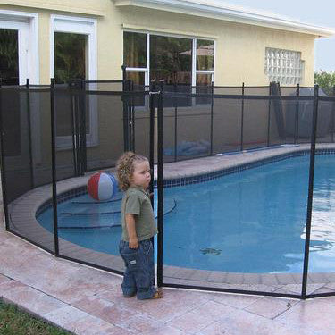 4'x12' pool safety fence