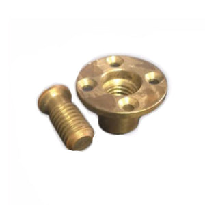 Brass anchors for safety pool covers