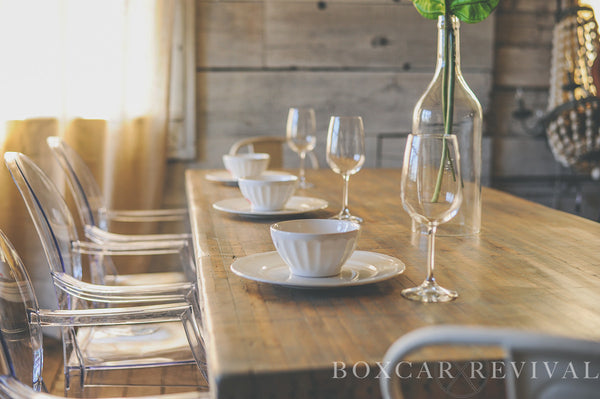 Boxcar Table Tops