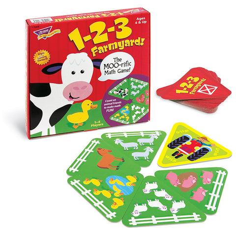 EducationalLearningGames.com 1 2 3 FARMYARD Math Game