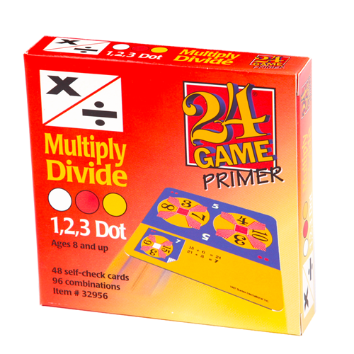 24 GAME 48 Card Deck Multiply and Divide