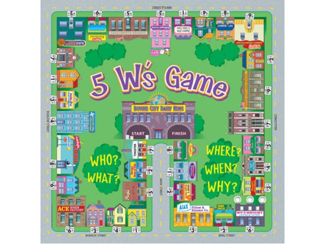 5 W's Game, Level A
