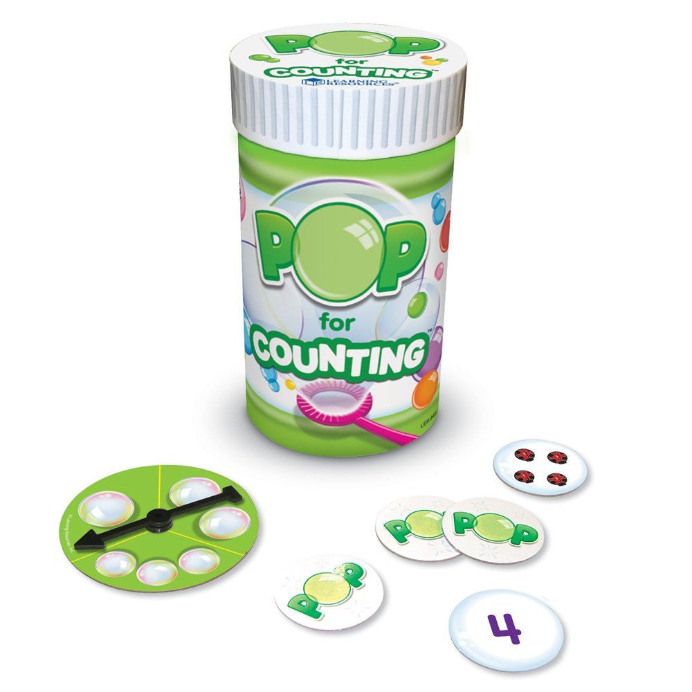 Pop for Counting Game - EducationalLearningGames.com