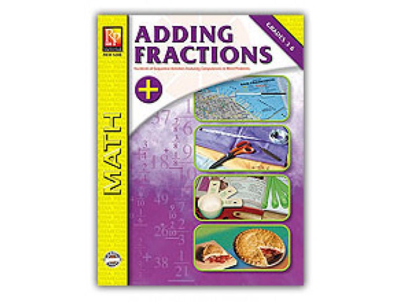 Adding Fractions Workbook