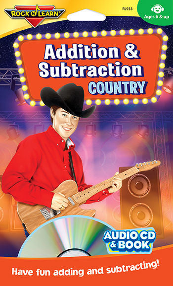 Addition & Subtraction Country Audio CD & Book