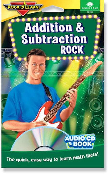 Addition & Subtraction Rock Audio CD & Book
