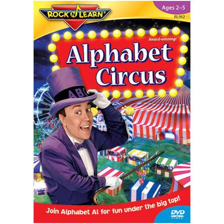 Alphabet Circus DVD Video