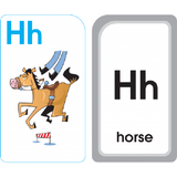 Alphabet Fun Flash Cards - EducationalLearningGames.com