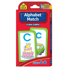 Alphabet Match Flash Cards - EducationalLearningGames.com